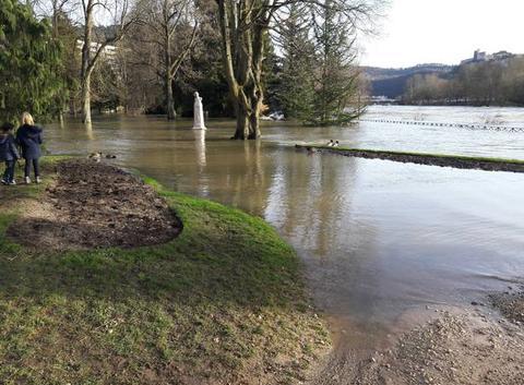 Inondation au parc Micaud
