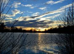 Ciel Polminhac 15800 Retour du beau temps sur le Cantal............