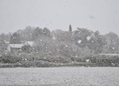 Neige Etoile-sur-Rhone 26800 Grosses chutes de neige