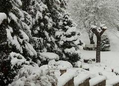Neige Le Puy-en-Velay 43000 Forte chute de neige sur la haute Loire