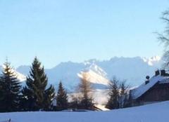Neige Les Deserts 73230 La Savoie en hiver