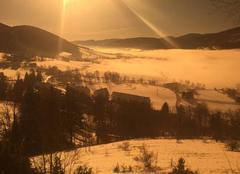 Neige Lans-en-Vercors 38250 Journee d hiver
