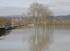 Catastrophe Tournus 71700 Inondations de la Saône à Tournus