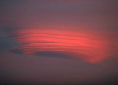 Nuages Romenay 71470 Nuage au coucher de soleil