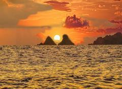 Ciel Saint-Mandrier-sur-Mer 83430 Coucher de soleil hier soir
