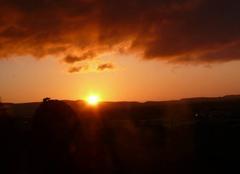 Ciel Narbonne 11100 Le soleil se lève sur la clape a narbonne