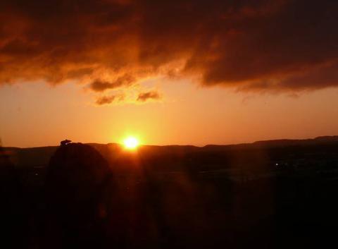 Le soleil se lève sur la clape a narbonne