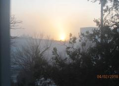 Froid Begles 33130 Lever de soleil d hiver