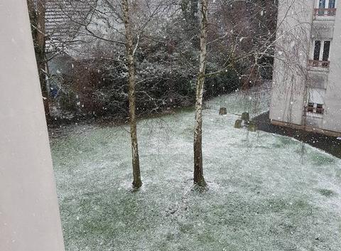 Neige à Haguenau