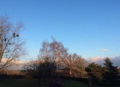 Ciel Launois-sur-Vence 08430 Enfin le froid et soleil