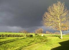 Pluie Abbaretz 44170 Beau ciel orageux