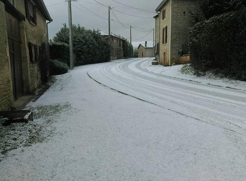 Il a neigé