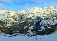 Neige Allos 04260 Basses Alpes