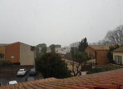 Ciel Agde 34300 Fortes pluies au Cap d'Agde