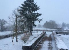 Neige Chamberat 03370 Giboulé de neige