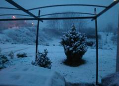 Neige Charrecey 71510 Le froid et la neige s'invite ce soir