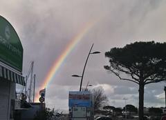 Nuages Saint-Tropez 83990 Entre pluie et éclaircie... à St Tropez