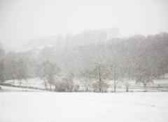 Neige Mautes 23190 Une journée d'hiver