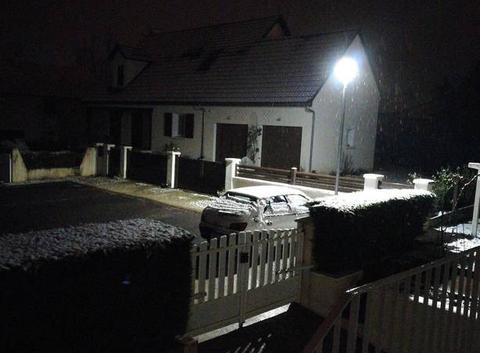 La neige ne tient pas au sol
