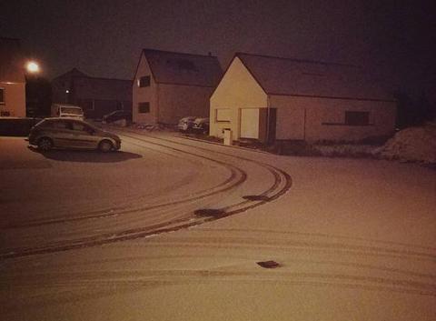 Neige à Trelivan