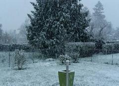 Neige Ploermel 56800 Vous aviez oublié la BRETAGNE dans vos prévisions. ..