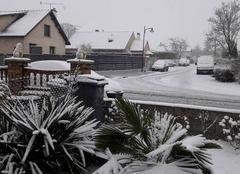 Neige Witry-les-Reims 51420 Journée enneigée