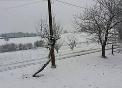 Neige Bosmoreau-les-Mines 23400 Avec modération
