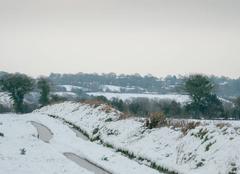 Neige Grosville 50340 Grosville sous la neige