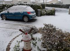 Neige La Roche-sur-Yon 85000 La neige est arrivée