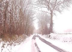 Neige Sainte-Blandine 79370 Promenons nous sous la neige