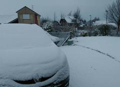 Neige Allouville-Bellefosse 76190 Neige dans le 76
