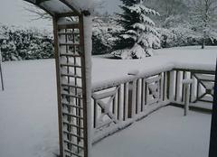 Neige Saint-Gervais-en-Belin 72220 La petite Sibérie