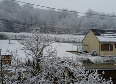 Neige Fontenay-sur-Loing 45210 Neige en abondance