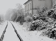 Neige Saint-Julien-l'Ars 86800 Vallade dans la neige