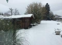 Neige Pouilly 60790 Abondante chutes de neige dans l?Oise
