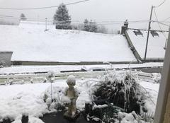 Neige Les Ormes-sur-Voulzie 77134 Journée de neige aux Ormes sur voulzie