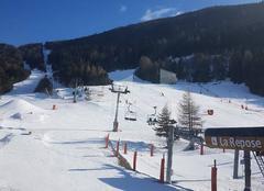 Ciel Villarodin-Bourget 73500 Tempête de ciel bleu a la montagne