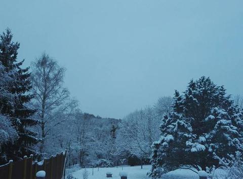 AVALLON sous la neige