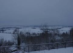 Neige Mezerville 11410 Reveil ce matin sur le lauragais