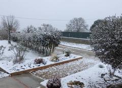 Neige Lafitte-Vigordane 31390 De la neige en Haute-Garonne.