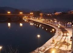 Neige Cazeres 31220 Neige sur les bords de Garonne