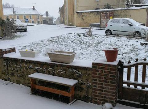 Neige à Verrières