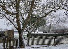 Neige Sainte-Florence 85140 Tout blanc ce matin