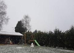 Neige Saint-Georges-les-Baillargeaux 86130 Il neige fort