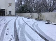 Neige Elbeuf 76500 Elbeuf sous neige