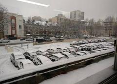 Neige Rouen 76100 Snow at rouen