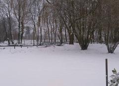 Neige Bivilliers 61190 Blanc manteau