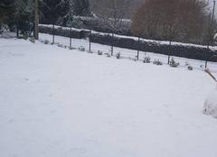 Neige Saint-Pierre-du-Vauvray 27430 Chute de neige dans le 27