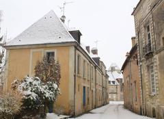 Neige Mortagne-au-Perche 61400 Normandie