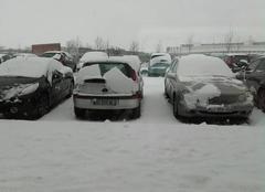Neige Blois 41000 Même au boulot on peut apprécier la neige ?